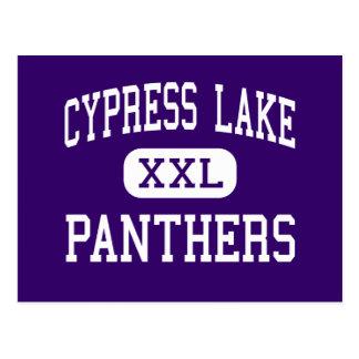 Cypress Lake - Panthers - High - Fort Myers Postcard