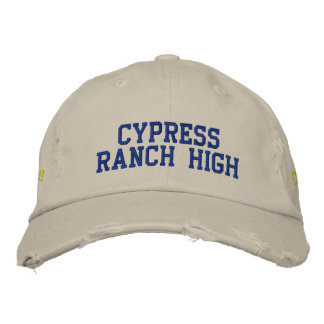 Cypress Ranch High *HAT* Class of 13 Embroidered Baseball Hat