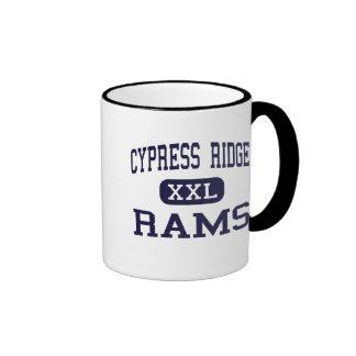 Cypress Ridge - Rams - High School - Houston Texas Ringer Coffee Mug