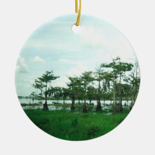Cypress Sentries Christmas Ornament