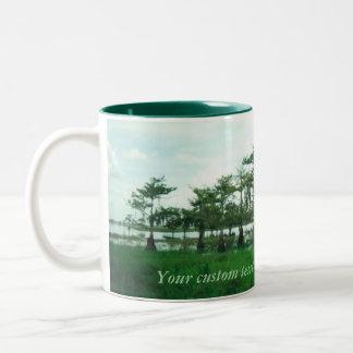 Cypress Sentries Personalized Mug lg- 2 tone