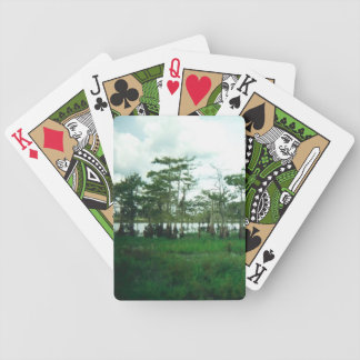 Cypress Sentries Playing Cards