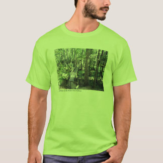 Cypress Swamp on the Natchez Trace Parkway T-Shirt