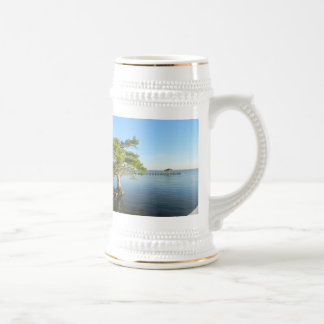 Cypress Tree on The Outer Banks Sound Beer Stein