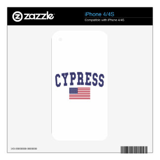 Cypress US Flag Skins For The iPhone 4