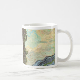 Cypresses, 1889 coffee mug