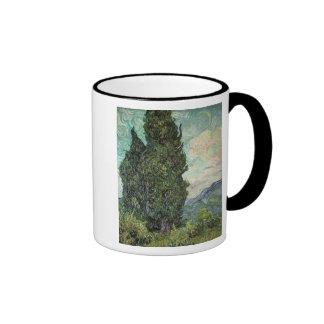 Cypresses, 1889 mug
