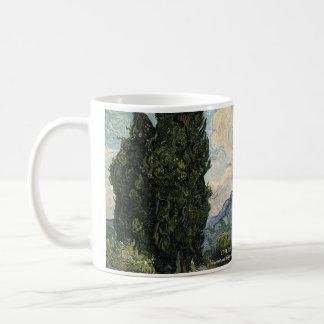 Cypresses Historical Mug
