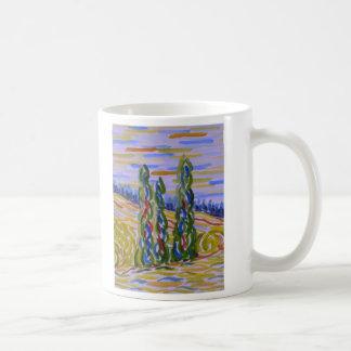 Cypresses Mug