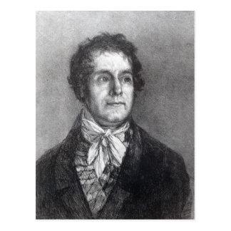 Cyprien Gaulon, 1824-5 Postcard