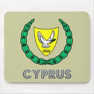 Cypriot Emblem Mouse Pads