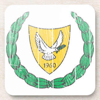 Cyprus Coat Of Arms Coaster