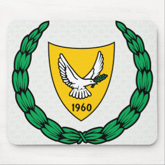 Cyprus Coat of Arms detail Mousepad