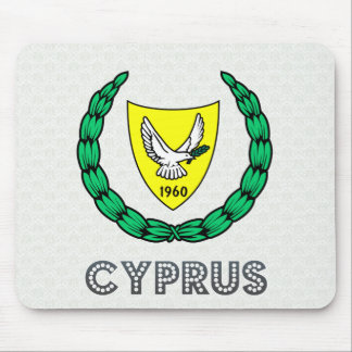 Cyprus Coat of Arms Mousepad