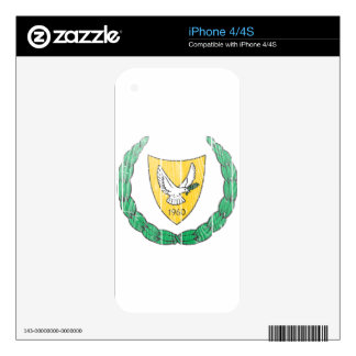 Cyprus Coat Of Arms iPhone 4 Skin