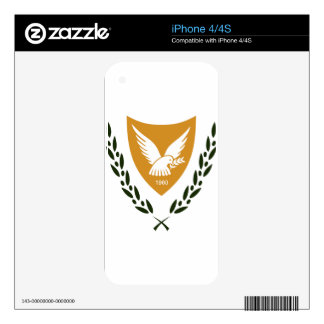 Cyprus Coat of Arms iPhone 4S Decal