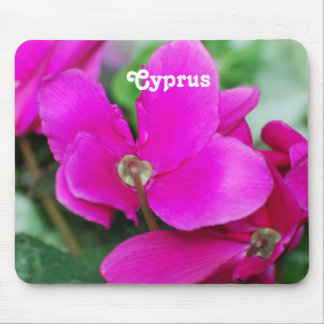 Cyprus Cyclamen Mouse Pad