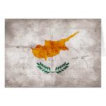 Cyprus; Cypriot Flag Greeting Card