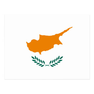 Cyprus – Cypriot National Flag Postcard
