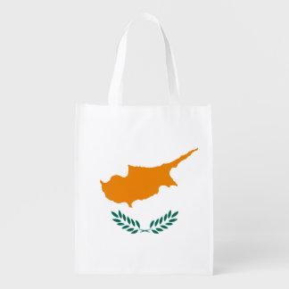 Cyprus Cypriot National Flag Reusable Grocery Bag