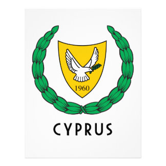 CYPRUS - emblem flag coat of arms symbol europe Personalized Letterhead