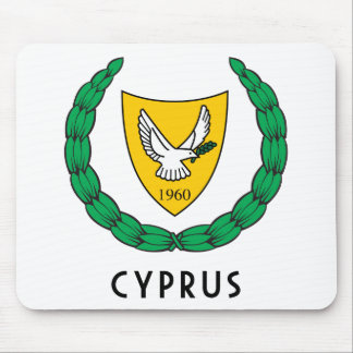 CYPRUS - emblem flag coat of arms symbol europe Mouse Pads