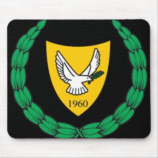 cyprus emblem mouse pad