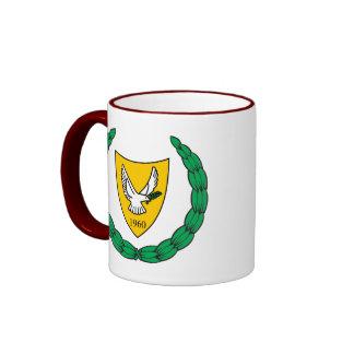 cyprus emblem coffee mugs