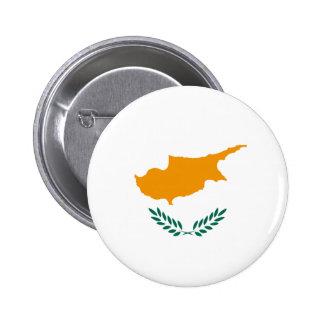 Cyprus Fisheye Flag Button