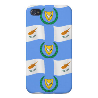 Cyprus Flag and Coat of Arms iPhone 4/4S Case