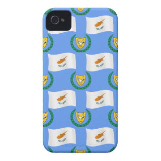 Cyprus Flag and Coat of Arms iPhone 4 Case