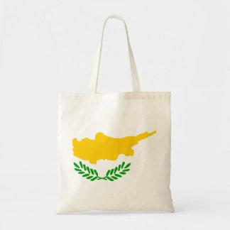 Cyprus Flag Tote Bags