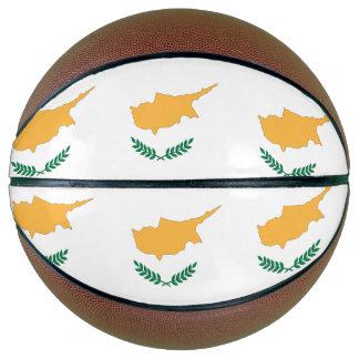 Cyprus Flag Basketball