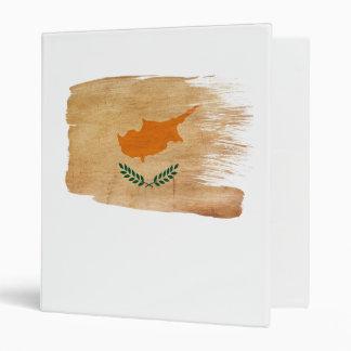 Cyprus Flag Vinyl Binder