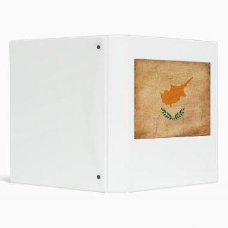 Cyprus Flag Vinyl Binders