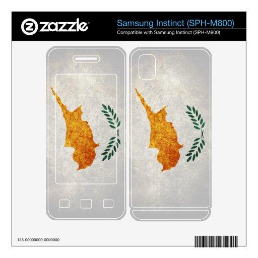 Cyprus Flag; Cypriot; Samsung Instinct Decal