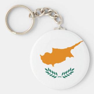 Cyprus Flag Key Chain