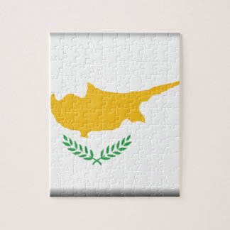 Cyprus Flag Jigsaw Puzzle