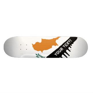 Cyprus Flag Skateboard Deck