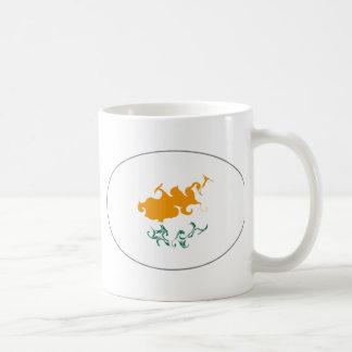 Cyprus Gnarly Flag Mug