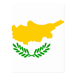 Cyprus High quality Flag Postcard