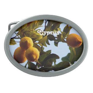 Cyprus Lemon Grove Belt Buckle
