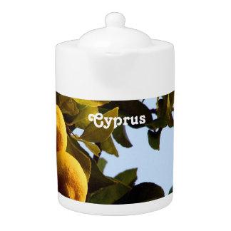 Cyprus Lemon Grove Teapot