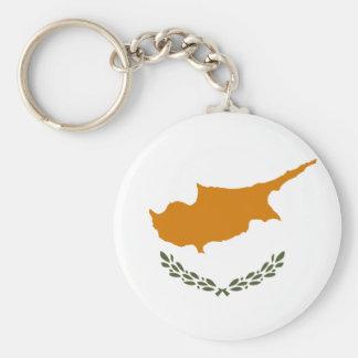 Cyprus National World Flag Keychain
