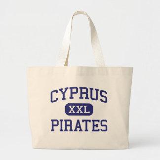 Cyprus - Pirates - Cyprus High School - Magna Utah Canvas Bags