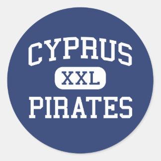 Cyprus - Pirates - Cyprus High School - Magna Utah Sticker