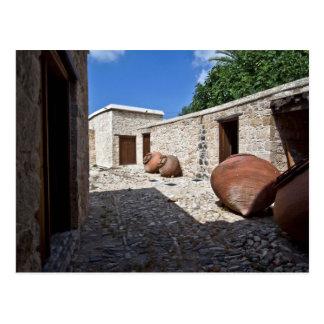 Cyprus rural traditional architecture Geroskipou f Postcard