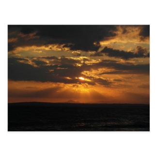 Cyprus Sunset Postcard