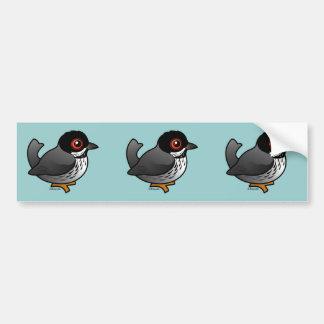 Cyprus Warbler Bumper Sticker