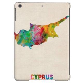 Cyprus Watercolor Map iPad Air Case